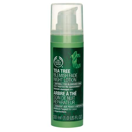 Tea Tree Blemish Fade Night Lotion- da dầu, mụn _TBS